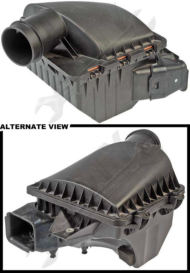 Engine Air Filter Housings : Apdty engine air filter box plastic housing fits