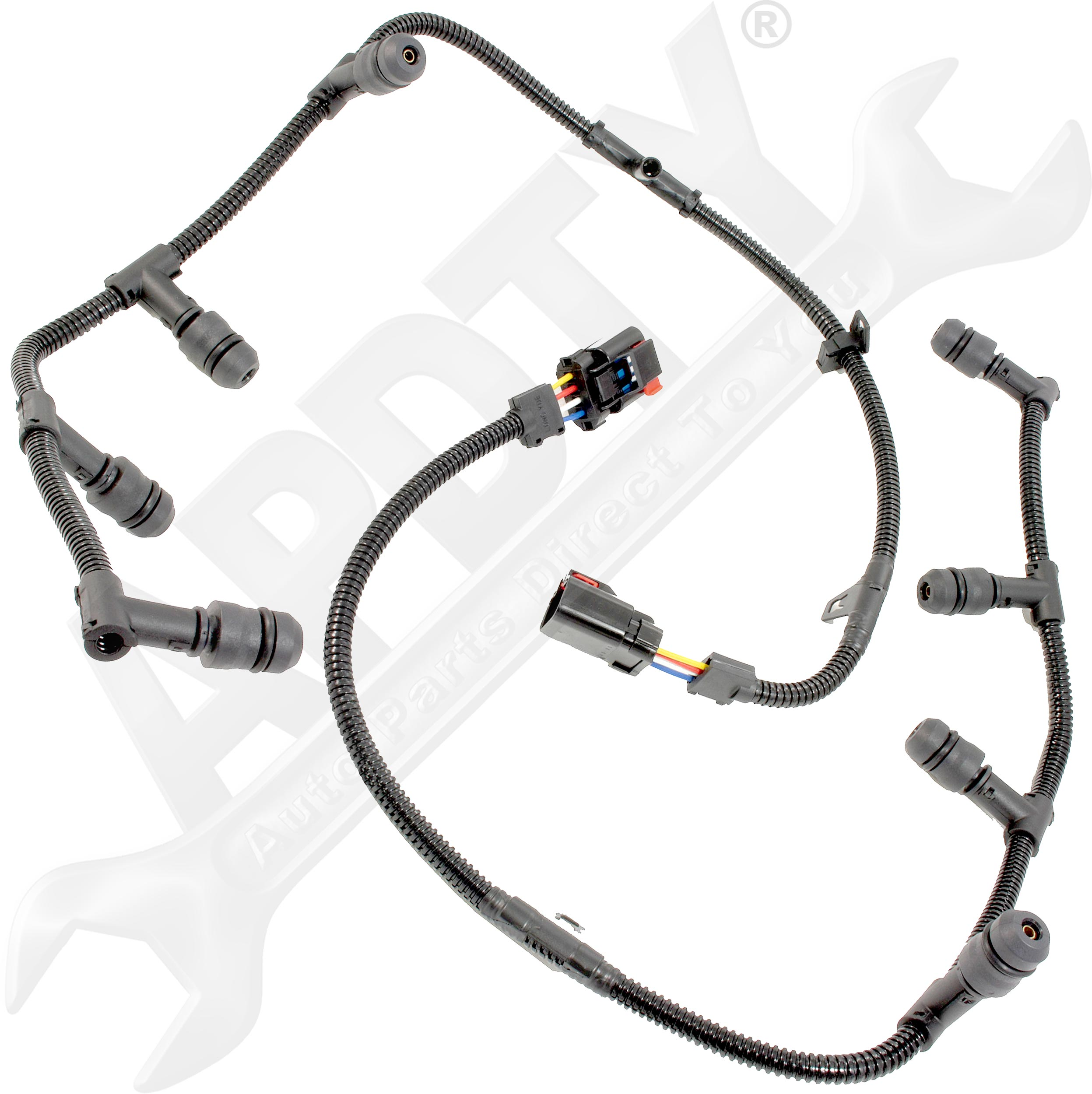 Apdty 112728 Glow Plug Wiring Harness Assembly Left