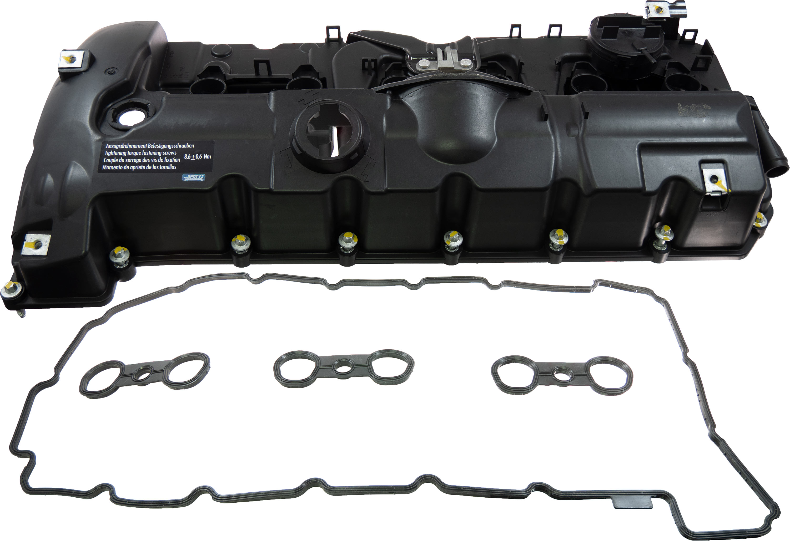 Apdty 139985 Engine Cylinder Head Valve Cover W Pcv Valve
